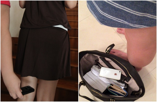 教师裙底春光囹�a_据早前报道,本地知名中学的七名学生偷拍六名女教师裙底,并把手机