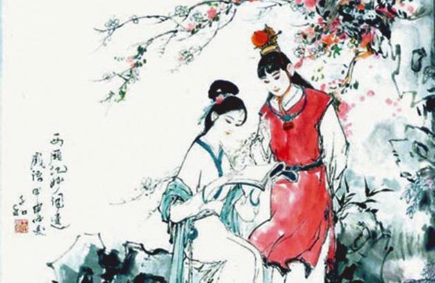 贾宝玉和林黛玉的生死恋是中国家喻户晓的爱情故事