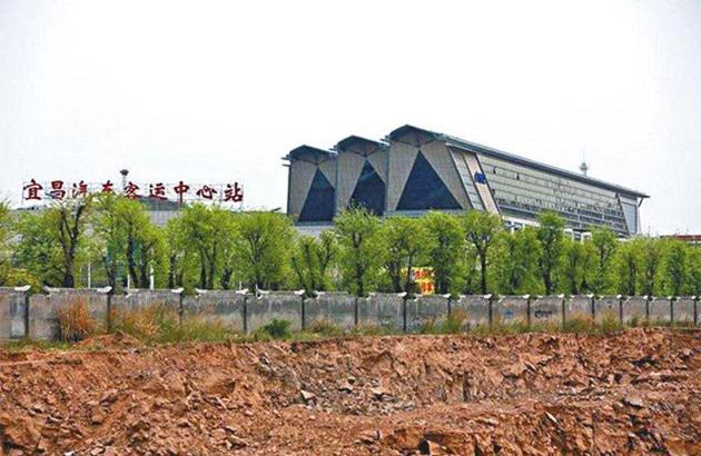 国际新闻  (武汉讯)中国湖北宜昌汽车客运中心站的照片,近日在网上广