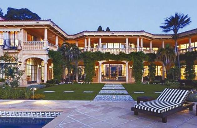 (悉尼讯)中国富豪许家印位于澳大利亚悉尼的海景豪宅villadelmare,因